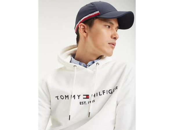 TOMMY LOGO HOODED