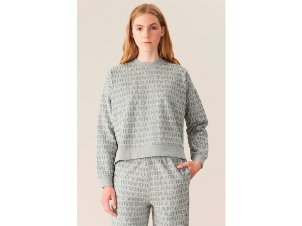 JACQUARD ISOLI SWEAT
