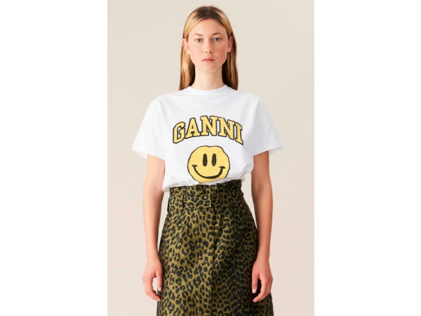 T-SHIRT SMILEY YELLOW