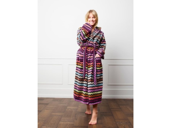 WARNER HOODED BATHROBE